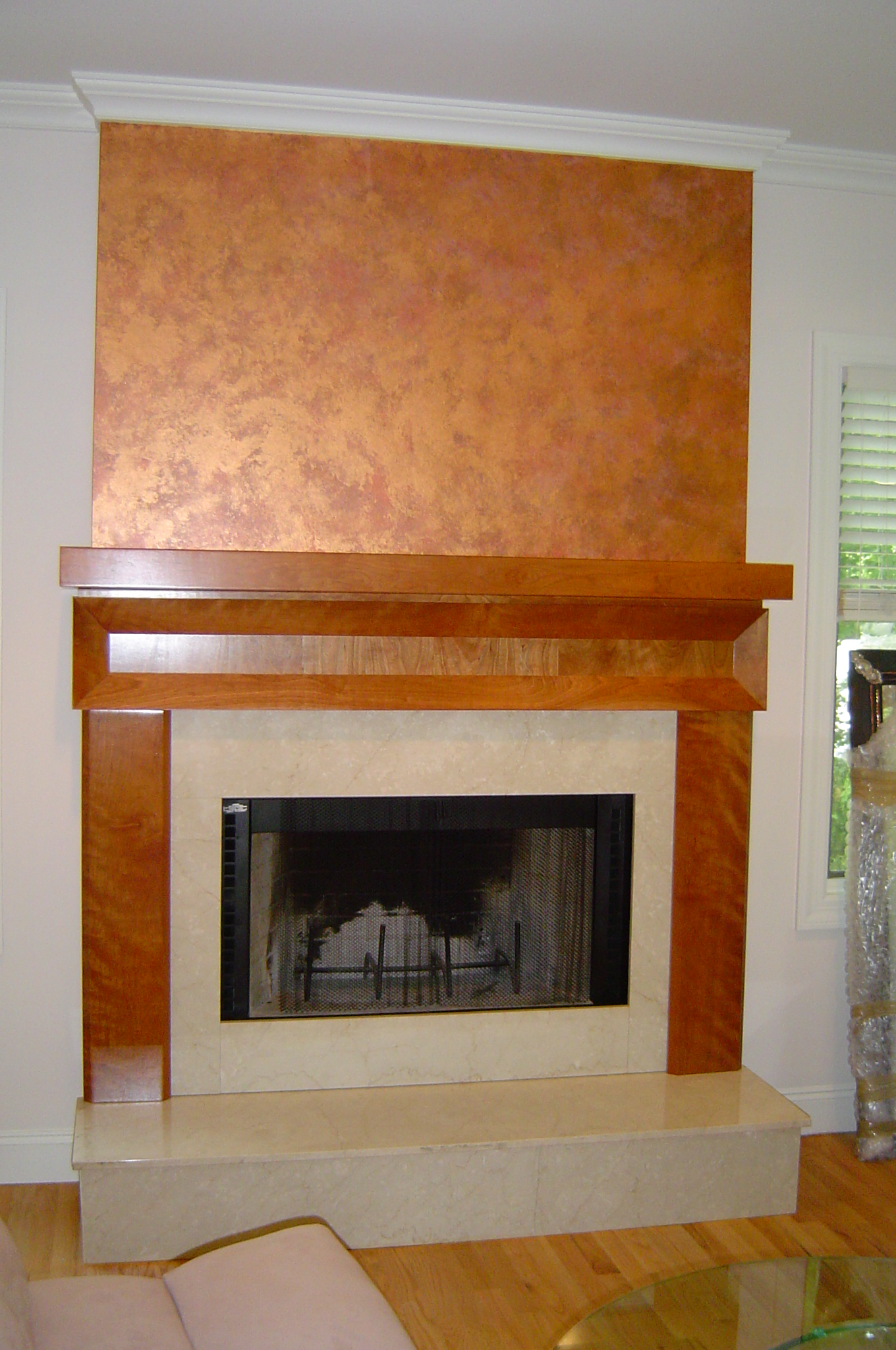 copper fireplace excellent images about fireplace on pinterest