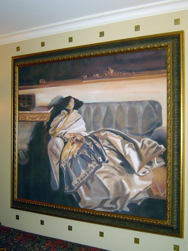 Reproduction of John Singer Sargent portrait.