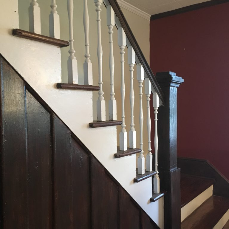Mahogany faux finish